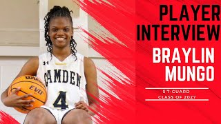 A1 Hoops Report Coach Allen interviews 2027 Braylin Mungo