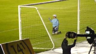 Gol de chilena por Blas Perez en el juego de Messi y sus amigos en Panama
