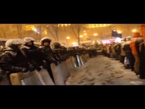 Euromaidan - Protesters are just ordinary people in Kiev Ukraine