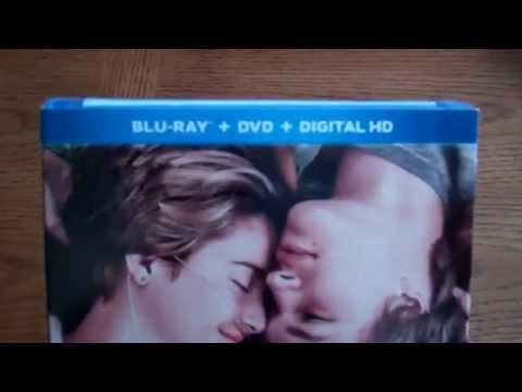 The Fault In Our Stars - Blu-Ray + DVD + Digital HD Unboxing