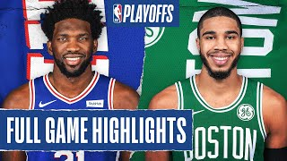 76ERS at CELTICS | FULL GAME HIGHLIGHTS | August 17, 2020