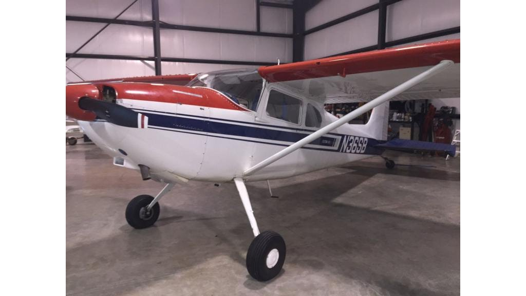 1956 Cessna 180 With only 10 Hours Since New