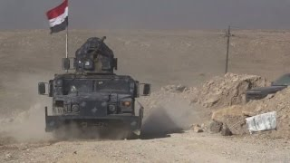 Iraq forces poised for Mosul airport assault