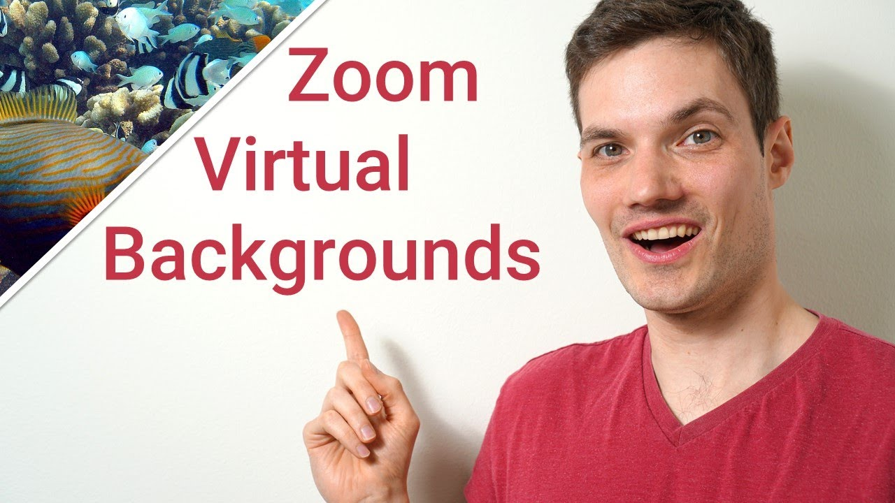 How To Change Your Background In Zoom Youtube