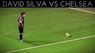 David Silva vs Chelsea (A) 2013-2014 EPL HD