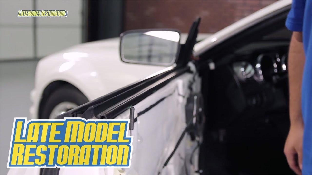 How To Install Mustang Door Belt Weatherstrip