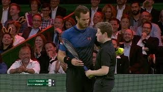 🔴 [FAIL] Andy Murray lets ball-boy play match point against Roger Federer (HD) 🔴