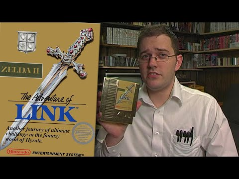 Zelda II: The Adventure of Link - NES - Angry Video Game Nerd - Episode 93