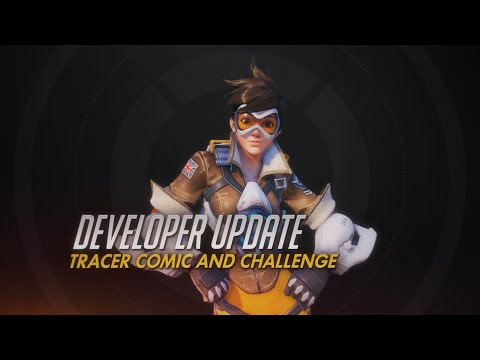 Developer Update | Tracer Comic and Challenge | Overwatch