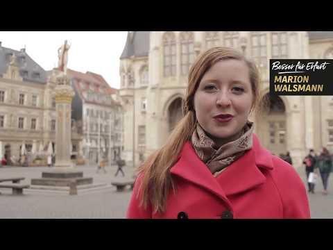 Lilli Fischer unterstützt Marion Walsmann als OB-Kandidatin für Erfurt