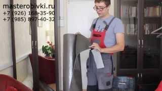видео Звукоизоляция двери
