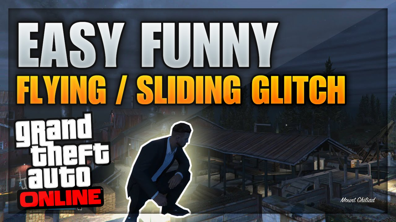 GTA 5 Fun Glitches - INSANE Flying & Sliding Glitch Online ...