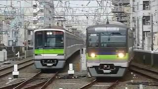 都営新宿線10-300形5次車区間急行「本八幡行き」笹塚駅到着