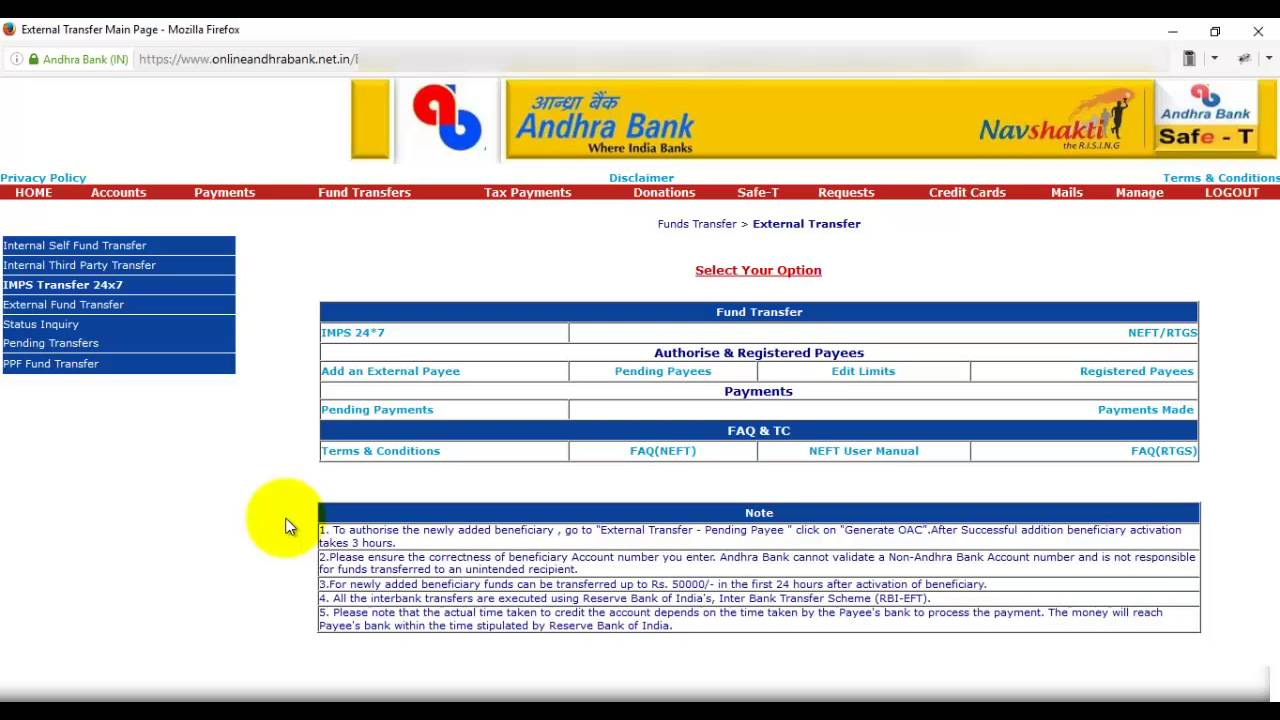 icici net banking not working
