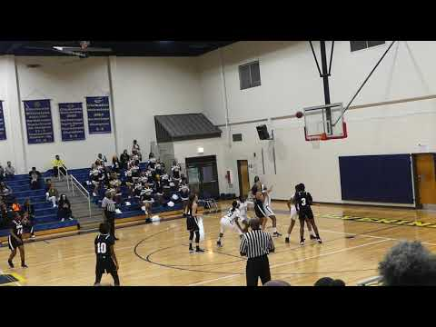 Conyers Middle School Girls Basketball 2019-20 vs Clements
