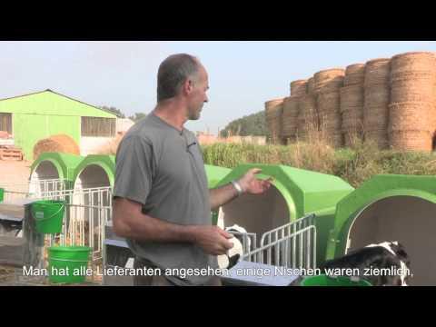 Témoignage client : Francis Beague, éleveur agriculteur à Masny (59) - Niche à veaux individuelle