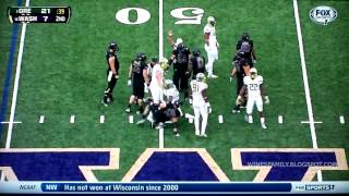 Oregon Highlights vs Washington 10/12/2013