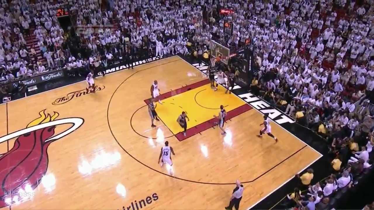 Lebron James Triple-Double vs Spurs (Full Highlights 2013 ...