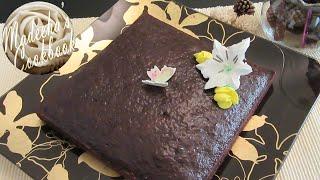 A Dense Rich Moist & Fluffy Eggless Chocolate Cake (easy & Quick Recipe)