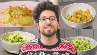 Meine Top 4 Kartoffelbeilagen für Weihnachten & wie man sie macht