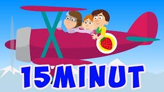 MIX - TRUSKAWKOWY BABCI SMAK - ŚPIEWAJĄCE BRZDĄCE   15 MINUT PIOSENEK DLA DZIECI