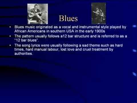 Blues Music Genre