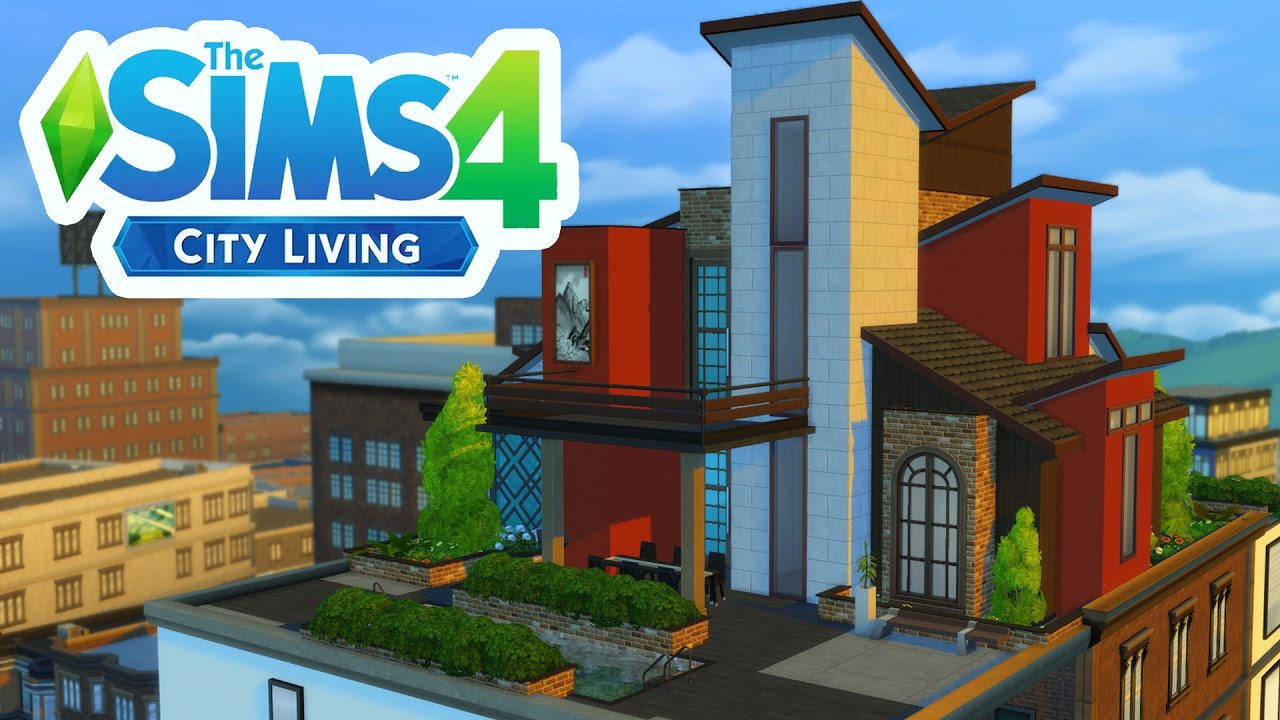How To Build A Penthouse In City Living Sims