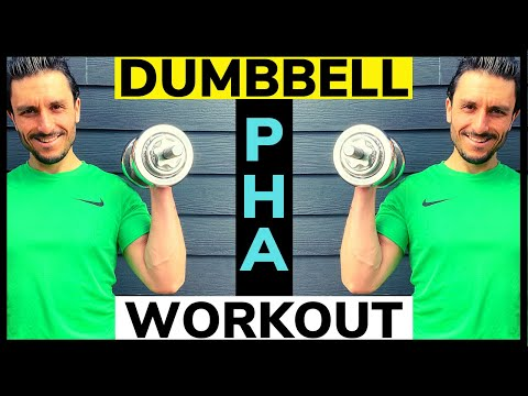PHA Workout With Weights // 35 Minute Peripheral Heart Action (PHA) Training Workout