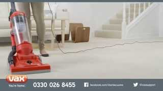 Introducing...Vax Energise Pulse Upright Vacuum Cleaner Range