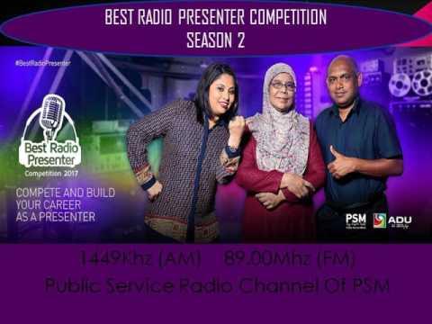 BEST RADIO PRESENTER COMPETITION 2017 EPISODE 12