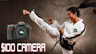 Video $100 Budget Camera Challenge - LIVE Action Photoshoot download MP3, 3GP, MP4, WEBM, AVI, FLV Juli 2018