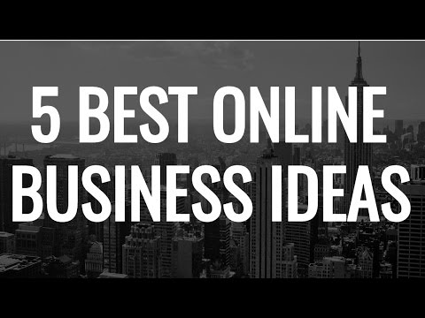 5 BEST PROFITABLE ONLINE BUSINESS IDEAS THAT YOU'LL LOVE