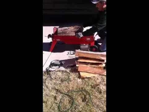 DR Electric Log Splitter