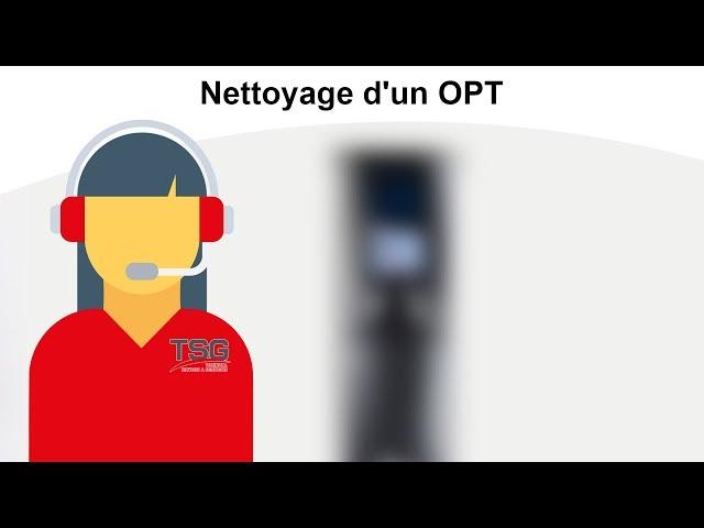 Nettoyage d'un OPT - Tokheim Fuelpos