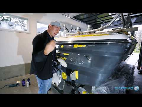 Learn how to apply ceramic coating to your boat or yacht.