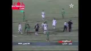 Egypte 1-1 Maroc 1996 - مصر 1-1 المغرب تصفيات كأس افريقيا 98