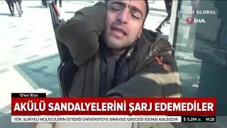 Taksim Medyanı'nda Engelli İstasyonunda Hırsızlık Yaptılar Engelliler Mağdur Oldu