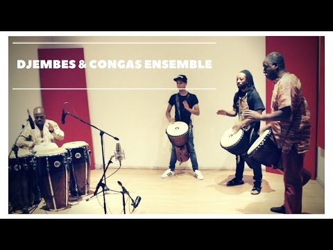 Djembes and Congas Ensemble