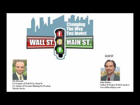 John Rubino- The Euro Economic Problems Rivals the U.S. Economy