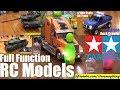 Remote Control Models! TAMIYA RC Models. RC Tank and RC Trucks! Full Function RC Models