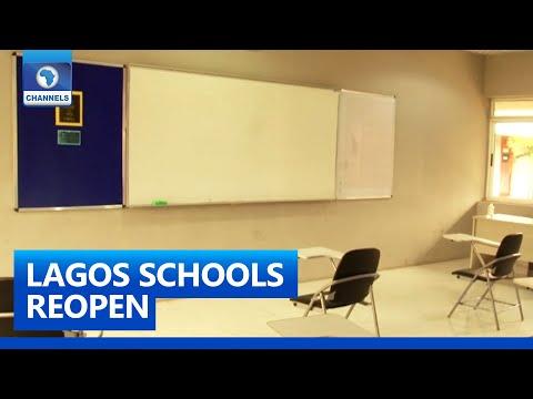 Lagos Schools Prepare For Resumption After Lockdown