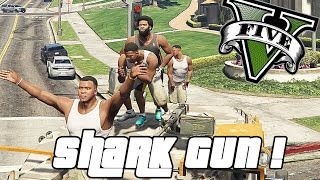 GTA V PC - Shark Gunnn... and Cutter-Tank ! (Funny Moments W/ Object Spooner)