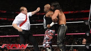 The Dudley Boyz vs. Seth Rollins & Corporate Kane: Raw, Oct. 5, 2015