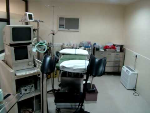 Egg recovery room, Fertility clinic & IVF Div. AMRI Medical Center, Kolkata, India