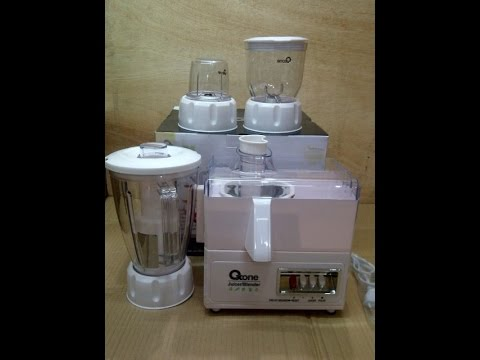 Philips Juicer HR1854 unboxing + test Doovi