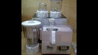 Juicer and Blender 4in1 Oxone Ox 867 [unboxing]