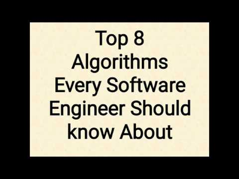 Top 8 Algorithms Every Software Engineer Should Know