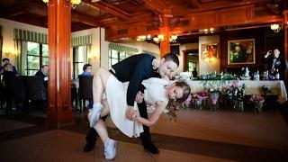 Зажигательный свадебный танец жениха и невесты. Свинг.