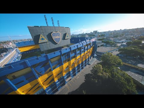 Fly through La Bombonera, home of Boca Juniors | Qatar Airways