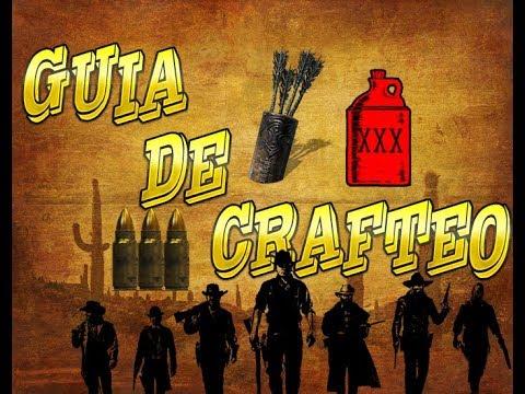 Red Dead Redemption 2 Online 📖 GUÍA DE CRAFTEO 📖 ( FLECHAS PEQUEÑAS ) + TRUCO EXPERIENCIA INFINITA